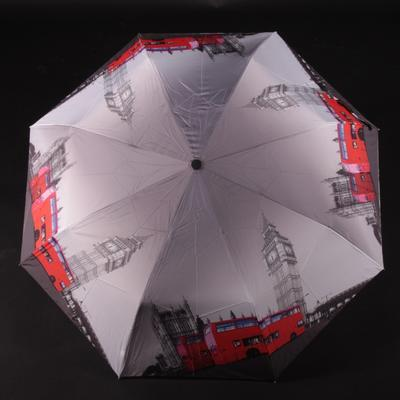 Skládací dámský deštník Mett motiv London - 1