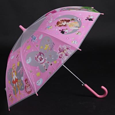 Dětský vystřelovací deštník Tim růžový - 1