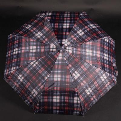 Pánský skládací deštník Alan červený - 1