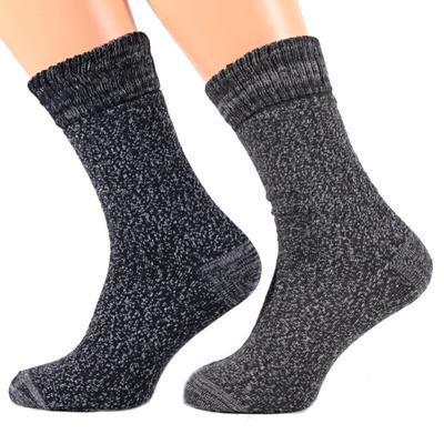 Pánské zimní ponožky I2b modré