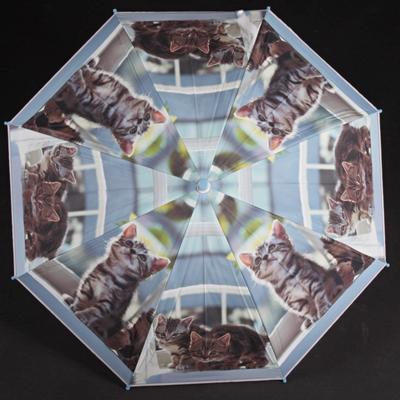 Dětský vystřelovací deštník Tory tmavě modrý - 1