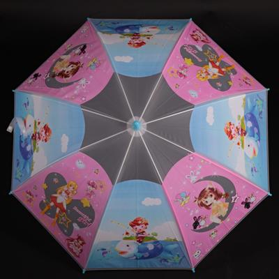 Dětský vystřelovací deštník Tim modrý - 1