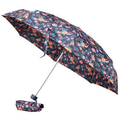 Dámský skládací deštník s potiskem květin Taisa