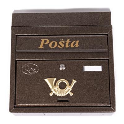 Poštovní schránka Diana zlatá - 1