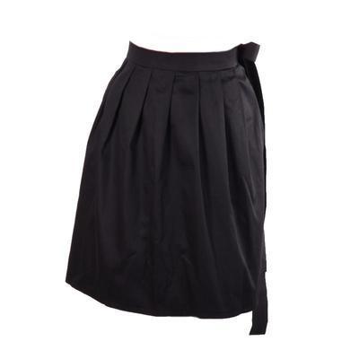 Černá zavinovací sukně Elisabeth bez potisku - 1