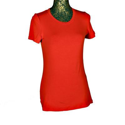 Červené tričko s krátkým rukávem Paula - 1