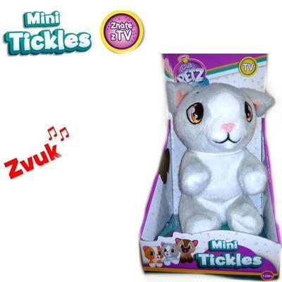 Mini Ticklec plyšová kočka 16cm Stela