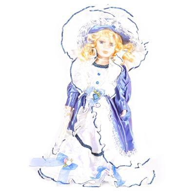 DOLL porcelánová panenka Nonna 40 cm