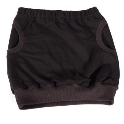 Dívčí černá bavlněná sukně Ester