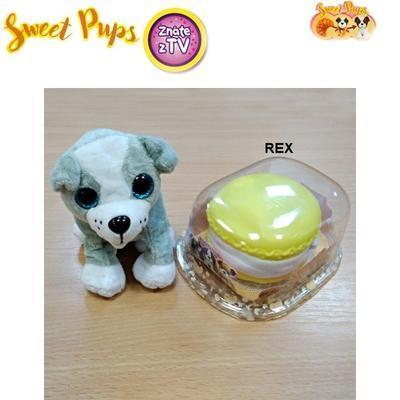 Sweet Pups plyšové štěňátko Rex