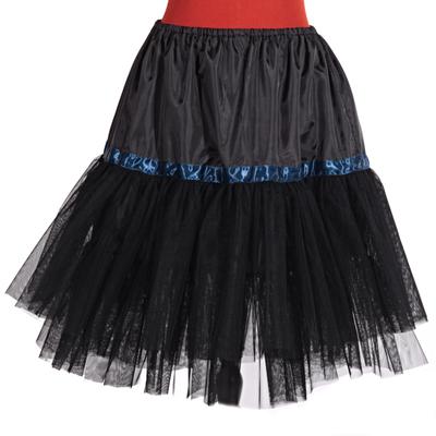 Černá spodnička Manky pod sukně a šaty - 1