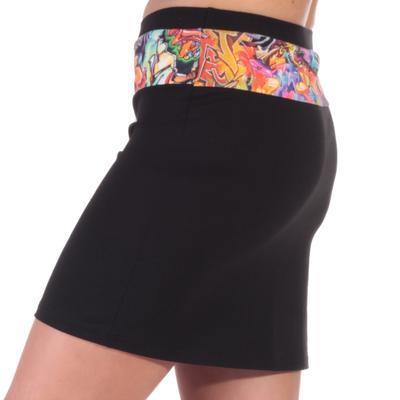 Dámská mini sukně Grafity - 1