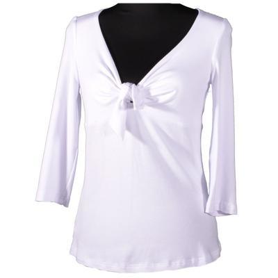 Bílé tričko s midi rukávem Miranda  - 1