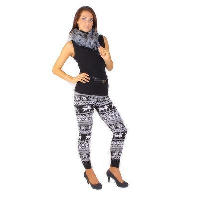 Elegantní šedý šátek Valery E4