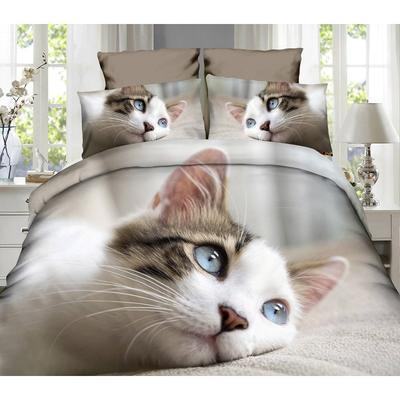 Jednolůžkové povlečení Kočka