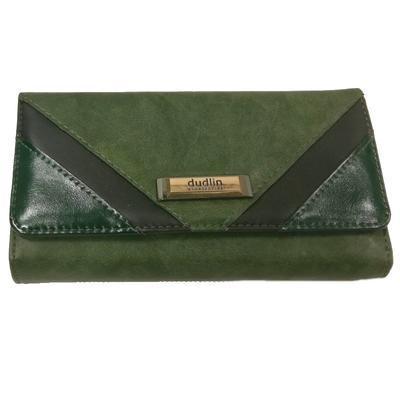 Zelená stylová dámská peněženka Valentino - 1