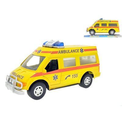 Auto ambulance na setrvačník 27cm Matyáš