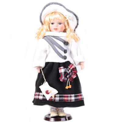 DOLL porcelánová panenka Arja 40 cm