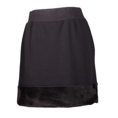 Černá zimní sukně Stela - 1
