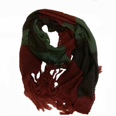 Zimní pletená šála Irina khaki
