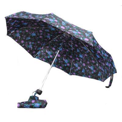 Dámský skládací deštník s potiskem květin Kaisa