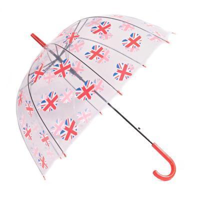 Průhledný deštník Vlajka  - 1