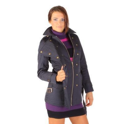 Modní prošívaný kabát Leontyn - 1