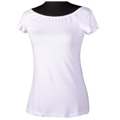 Bílé tričko s krátkým rukávem Marika - 1