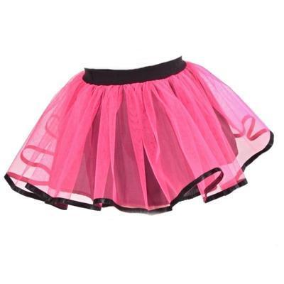 Dívčí neonově růžová tutu sukně Nesy  - 1