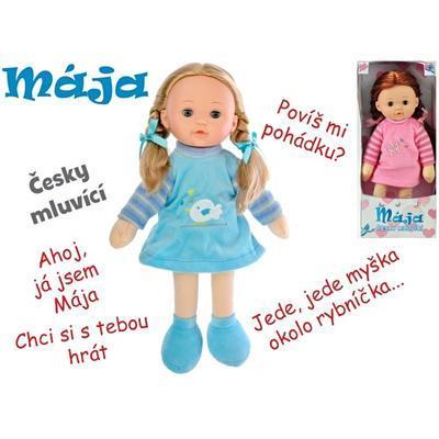 Mrkací panenka česky mluvící 42cm Mája