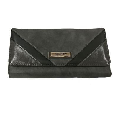 Šedá stylová dámská peněženka Valentino - 1
