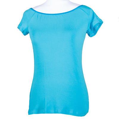 Modré tričko s krátkým rukávem Marika - 1