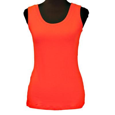 Červené tričko s širokými ramínky Amanda - 1