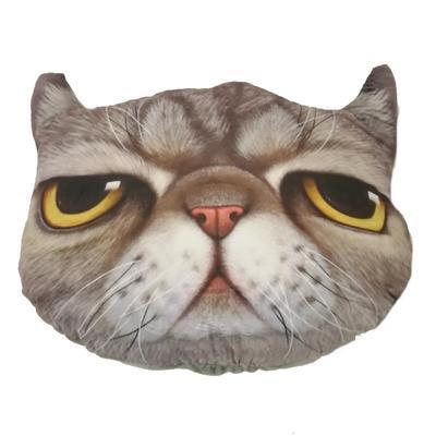 Nadýchaný polštář kočka Čáva - 1