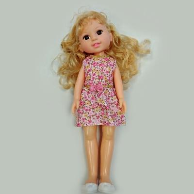 Panenka s dlouhými vlasy 31 cm Elaine růžová
