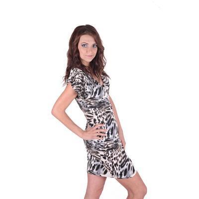 Letní šaty se zvířecím motivem Smaily  - 1