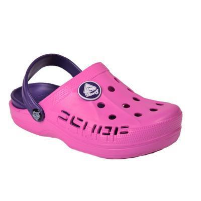Gumové pantofle Ola fialové