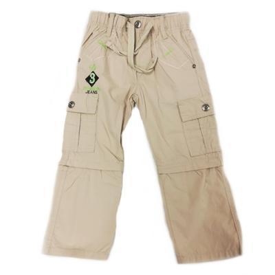 Chlapecké kalhoty 2v1 Boris krémové - 1