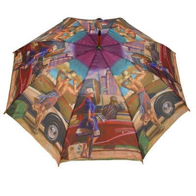 Luxusní dámský vystřelovací deštník Mariana - 1