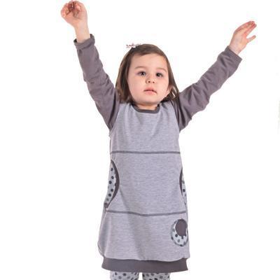 Dívčí bavlněné šatičky Saxana - 1