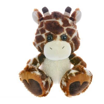 Sedící plyšová žirafa 36cm Karolína