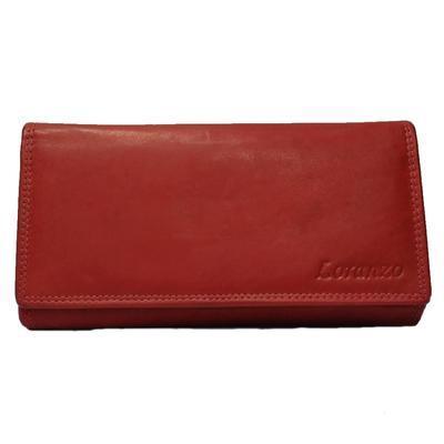 Dámská luxusní peněženka Esther červená - 1