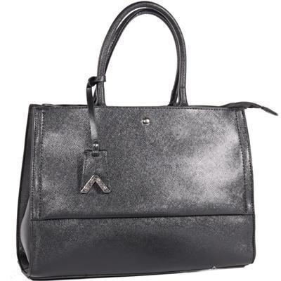 Atraktivní dámská černá kabelka Andre 7A - 1