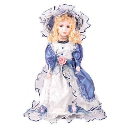 DOLL porcelánová panenka Kosta 40 cm