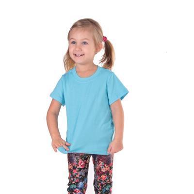 Tričko krátký rukáv Laura světle modré od 122-146 - 1