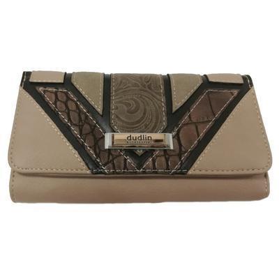 Hnědá luxusní dámská peněženka Ellini - 1