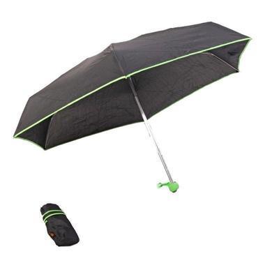 Skládací mini deštník Marko zelený - 1