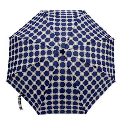 Skládací mini deštník Puntík světle modrý - 1