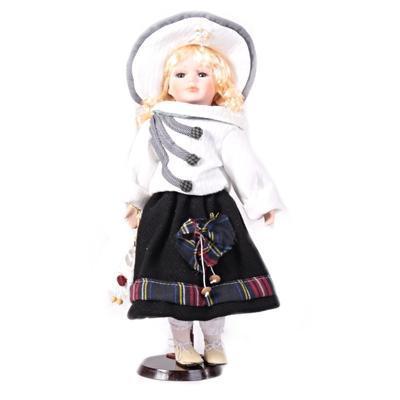 DOLL porcelánová panenka Arja B 40 cm