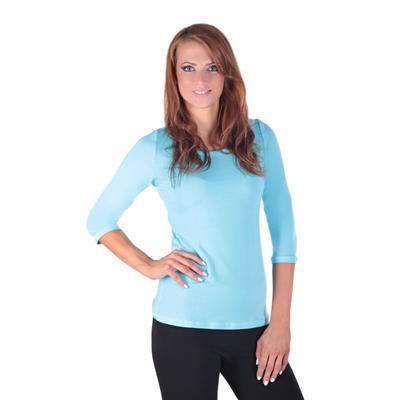 Světle modré dámské tričko Riky - 1